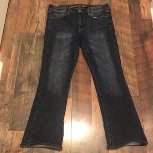 AEO Skinny Kick Jean - Worn once - 12 short